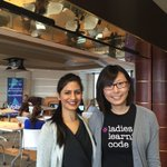 Mala Kalra and Jennifer Liu, co-leads for the Halifax chapter of Ladies Learning Code – one of various initiatives underway to bridge the gender gap in ICT. (Photo courtesy Mala Kalra.)